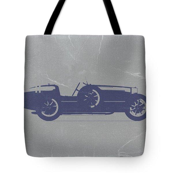 Bugatti Type 35 Tote Bag by Naxart Studio