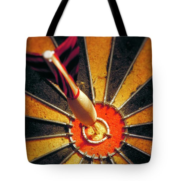Bulls Eye Tote Bag by John Greim