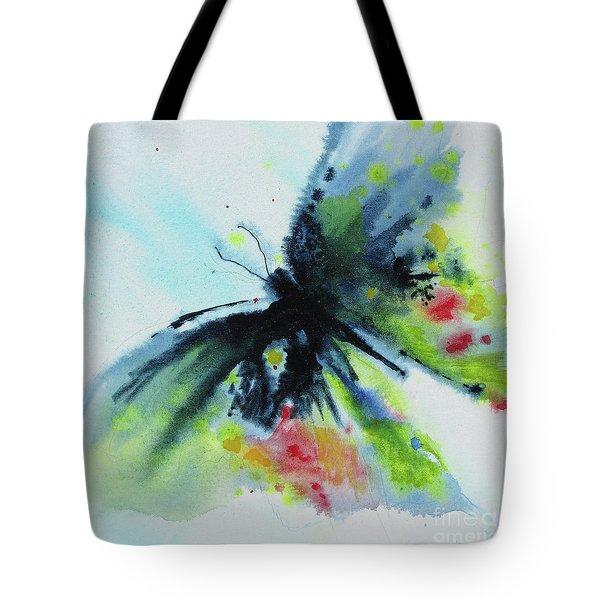 Butterfly 1 Tote Bag by Karen Fleschler