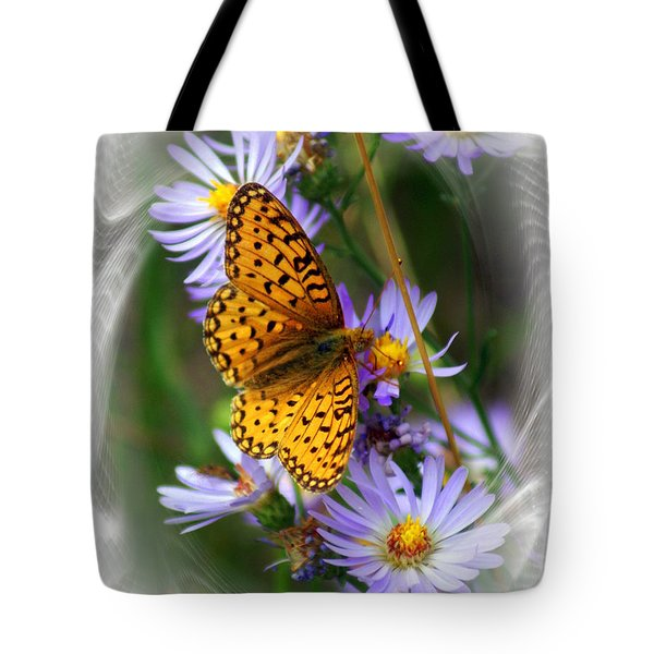 Butterfly Bliss Tote Bag by Marty Koch