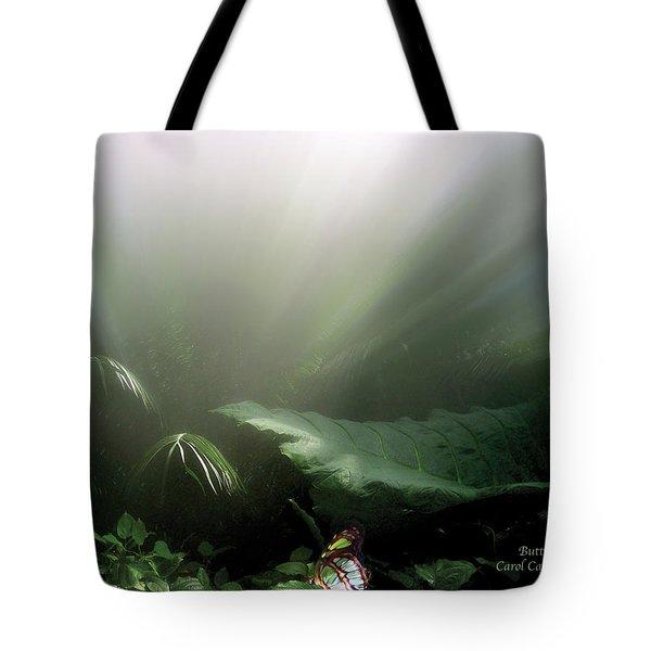 Butterfly Tote Bag by Carol Cavalaris