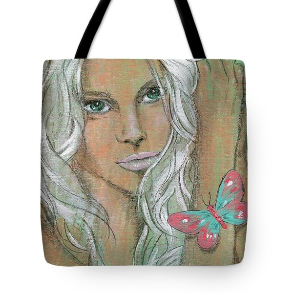 Butterfly Tote Bag by P J Lewis