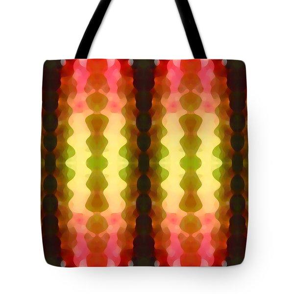 Cactus Vibrations 1 Tote Bag by Amy Vangsgard