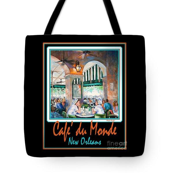 Cafe Du Monde Tote Bag by Dianne Parks