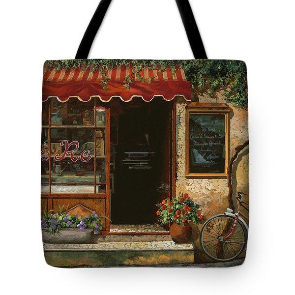 caffe Re Tote Bag by Guido Borelli