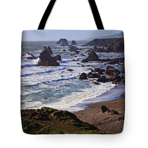 California Coast Sonoma Tote Bag by Garry Gay