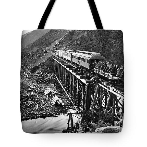California: Railroad, 1869 Tote Bag by Granger