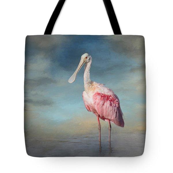 Call Me Rosy Tote Bag by Kim Hojnacki