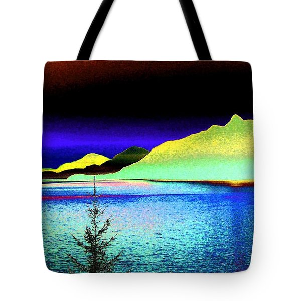 Call Of The Coast Tote Bag by Will Borden