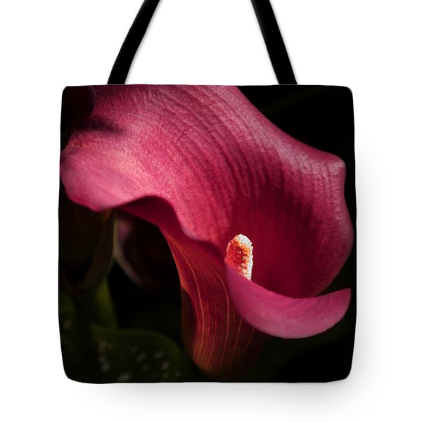 Calla Lily Tote Bag by Joanne Smoley
