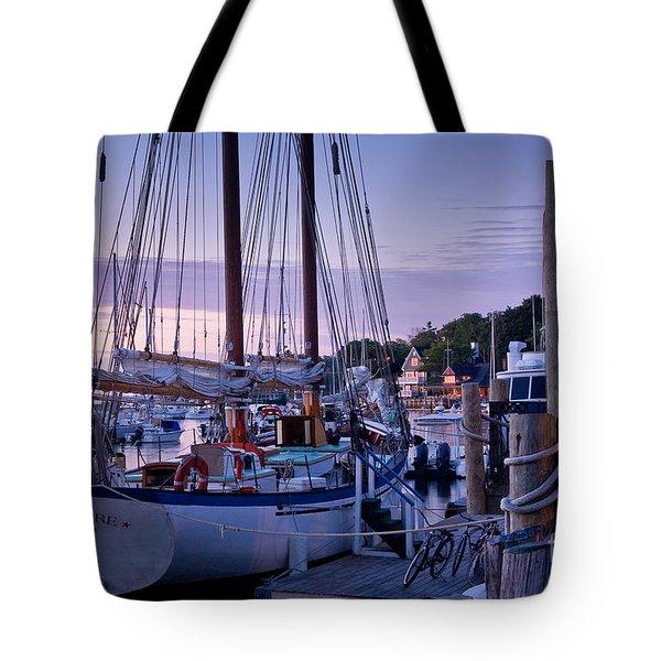 Camden Windjammer Dawn Tote Bag by Susan Cole Kelly