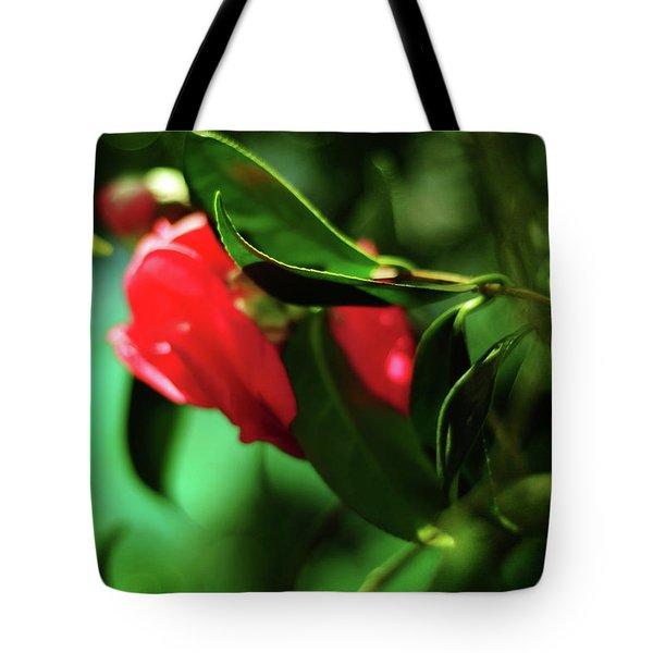 Camellia Dream Tote Bag by Rebecca Sherman