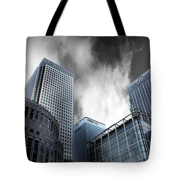 Canary Wharf Tote Bag by Martin Newman