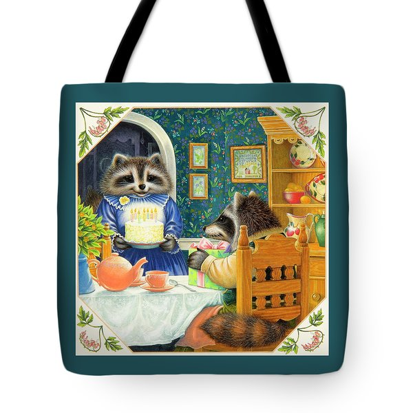 Candles On The Cake Tote Bag by Lynn Bywaters