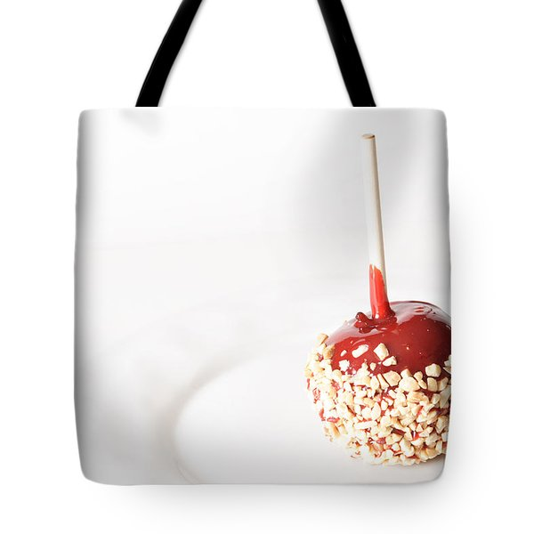Candy Apple Tote Bag by James BO  Insogna