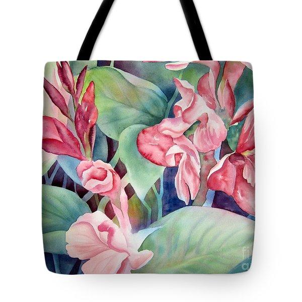 Canna Tote Bag by Deborah Ronglien