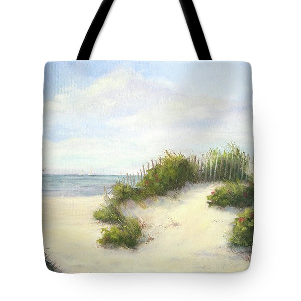 Cape Afternoon Tote Bag by Vikki Bouffard