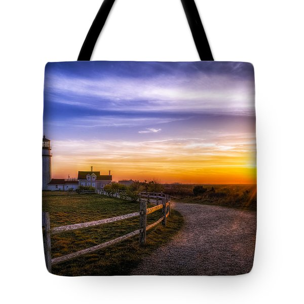 Cape Cod Light Tote Bag by Mark Papke