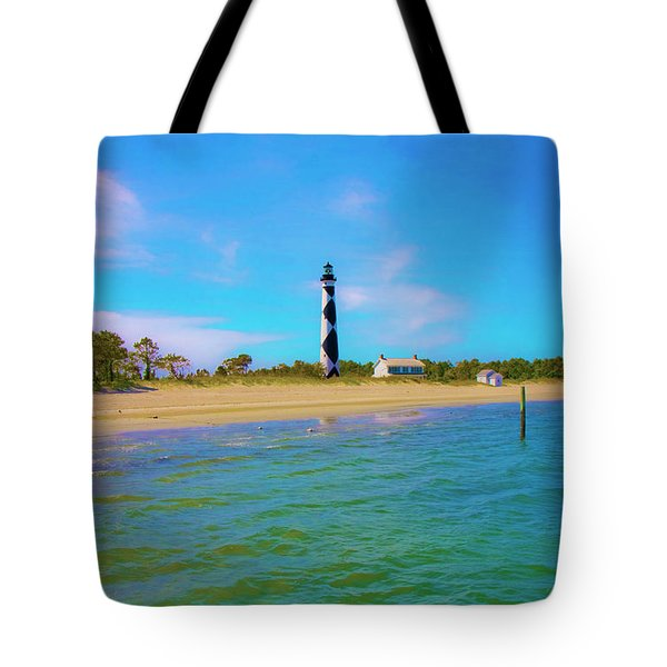 Cape Lookout 1 Tote Bag by Betsy C  Knapp