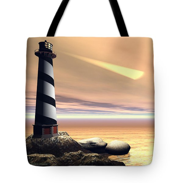 Cape Lookout Tote Bag by Corey Ford