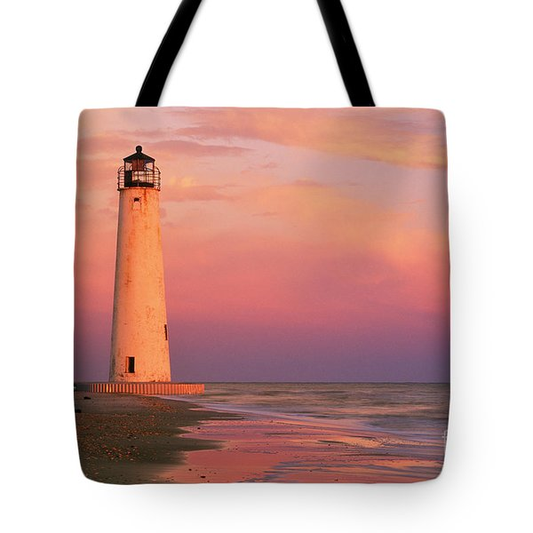 Cape Saint George Lighthouse - Fs000117 Tote Bag by Daniel Dempster
