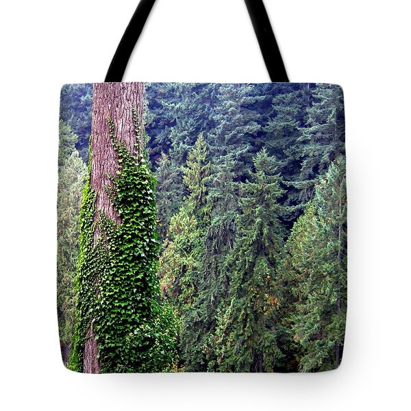 Capilano Canyon Ivy Tote Bag by Will Borden