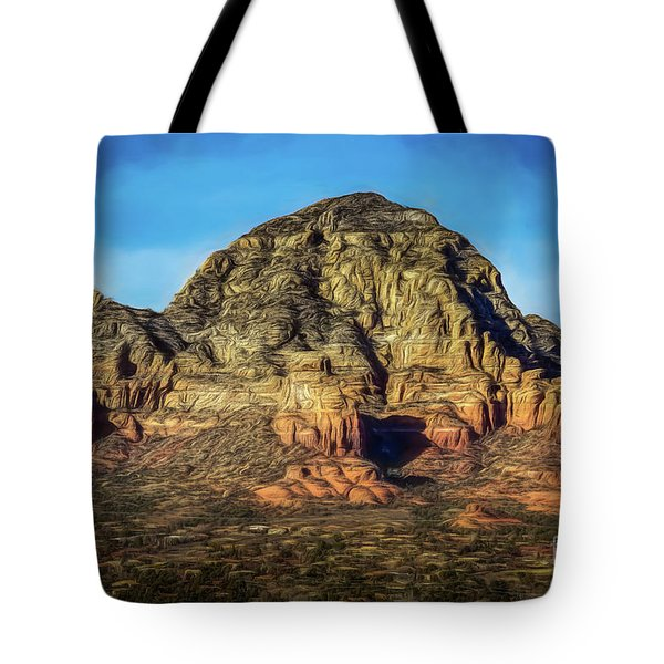 Capital Butte Tote Bag by Jon Burch Photography