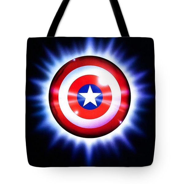 Captain America  Tote Bag by Movie Poster Prints