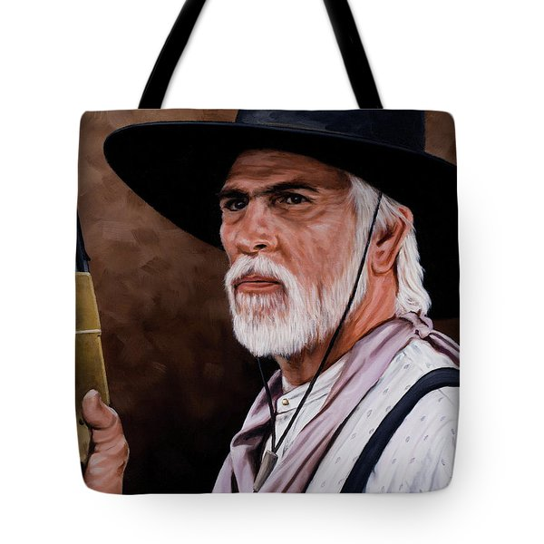 Captain Woodrow F Call Tote Bag by Rick McKinney