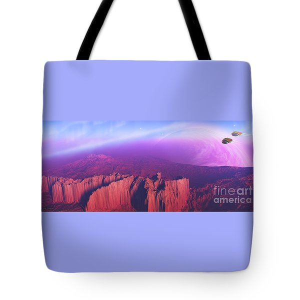 Cardinal Pointe Tote Bag by Corey Ford