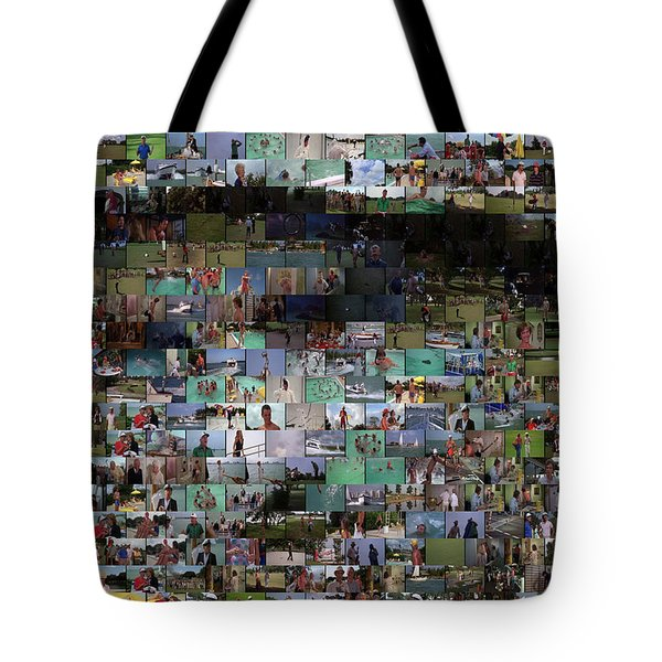 Carl Caddyshack Mosaic Tote Bag by Paul Van Scott