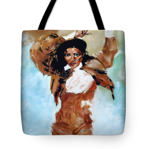 Carmen Amaya Tote Bag by Manuel Sanchez