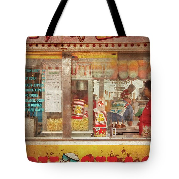 Carnival - The Candy Shack Tote Bag by Mike Savad