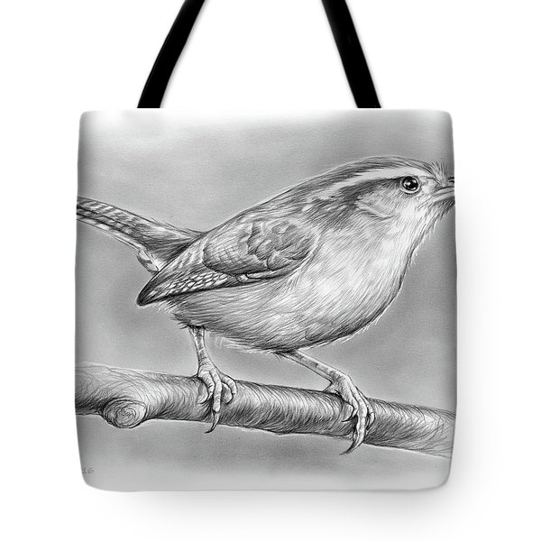 Carolina Wren Tote Bag by Greg Joens