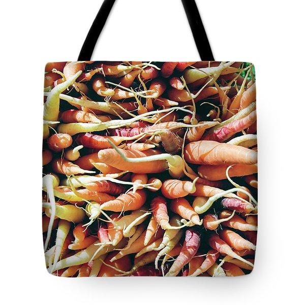 Carrots Tote Bag by Ian MacDonald
