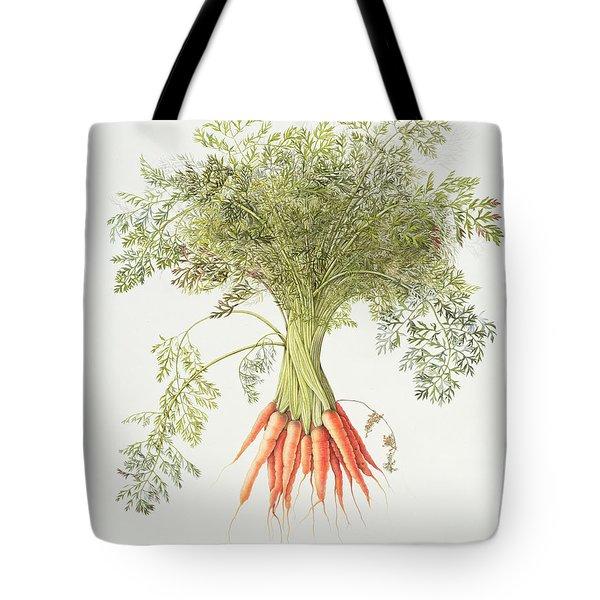 Carrots Tote Bag by Margaret Ann Eden