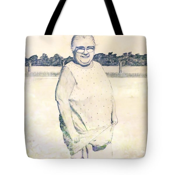 Carrying Eggs Tote Bag by Brian Wallace