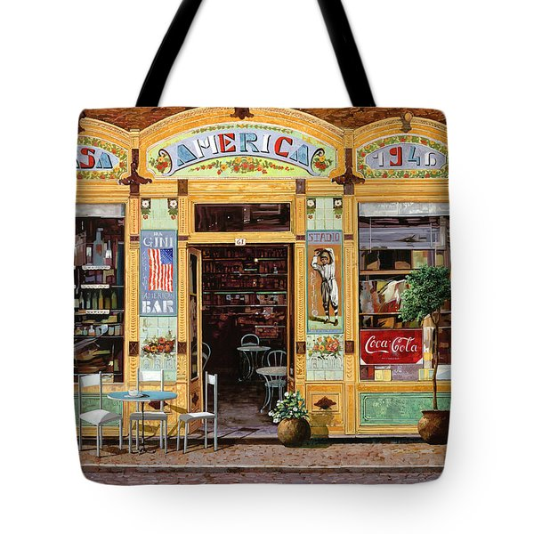 Casa America Tote Bag by Guido Borelli