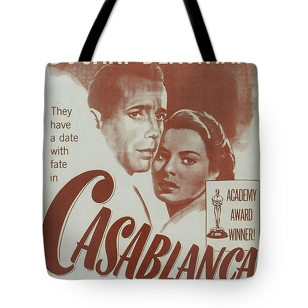 Casablanca Tote Bag by Nomad Art And  Design