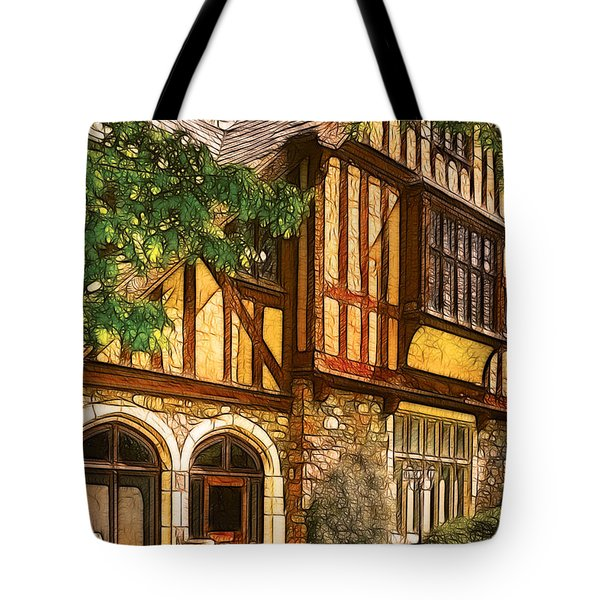 Castle - Castle IIi Tote Bag by Mike Savad