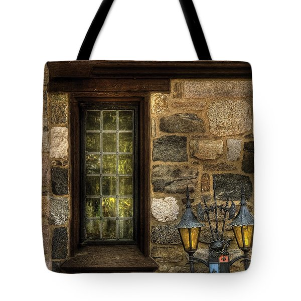 Castle - Coat Of Arms Tote Bag by Mike Savad