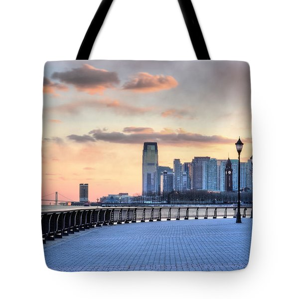 Castle Point V Tote Bag by JC Findley