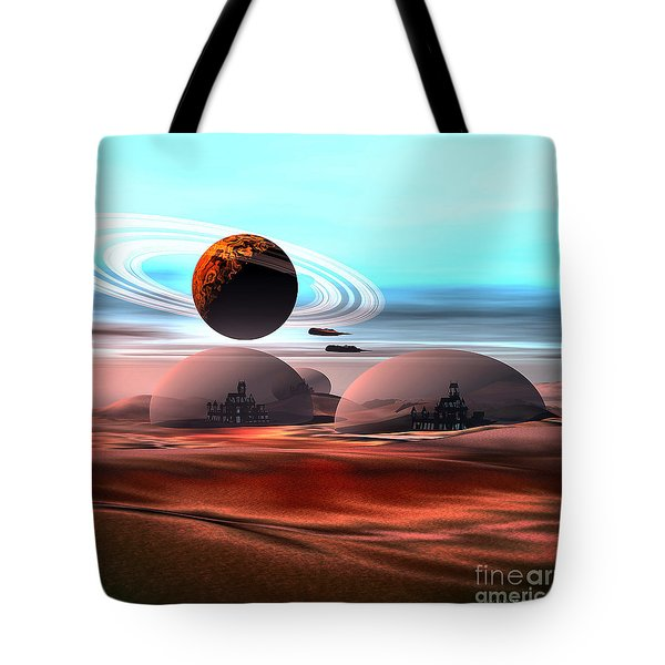 Castles In The Sand Tote Bag by Corey Ford