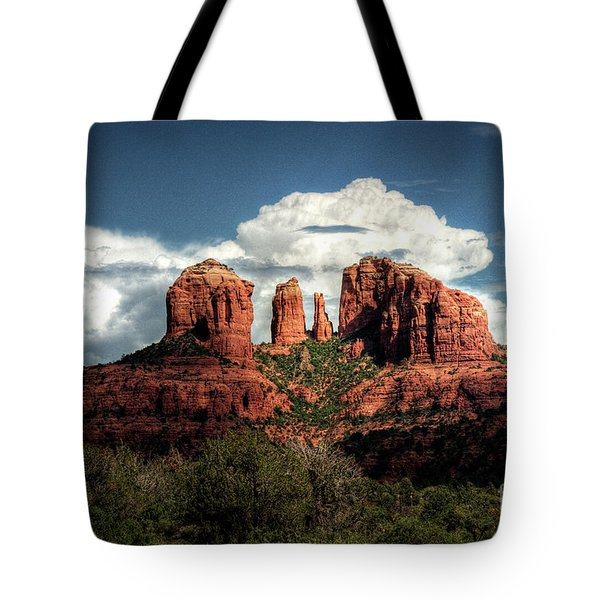 Cathedral Rock - Sedona  Tote Bag by Saija  Lehtonen