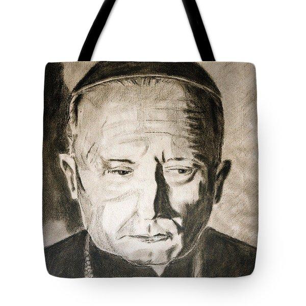 Catholic Cardinal Jozsef Mindszenty Tote Bag by Arline Wagner