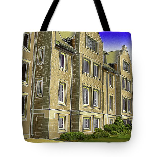 Catonsville United Methodist Church Tote Bag by Stephen Younts