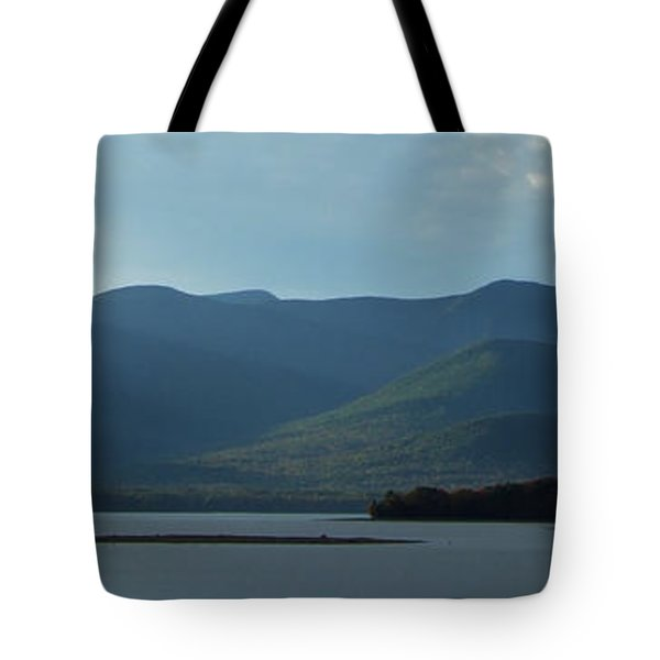 Catskill Mountains Panorama Photograph Tote Bag by Kristen Fox