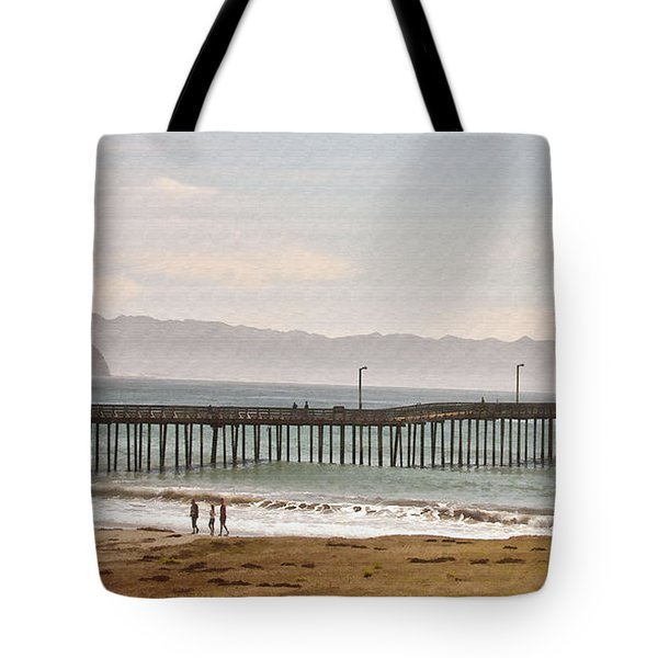 Caycous Pier II Tote Bag by Sharon Foster