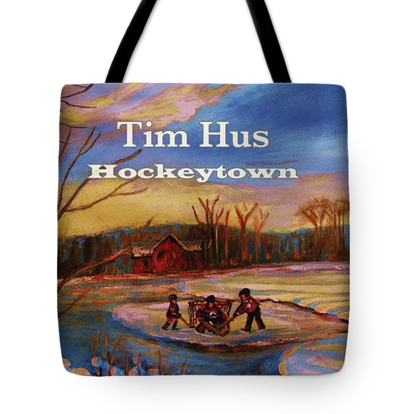 Cd Cover Commission Art Tote Bag by Carole Spandau