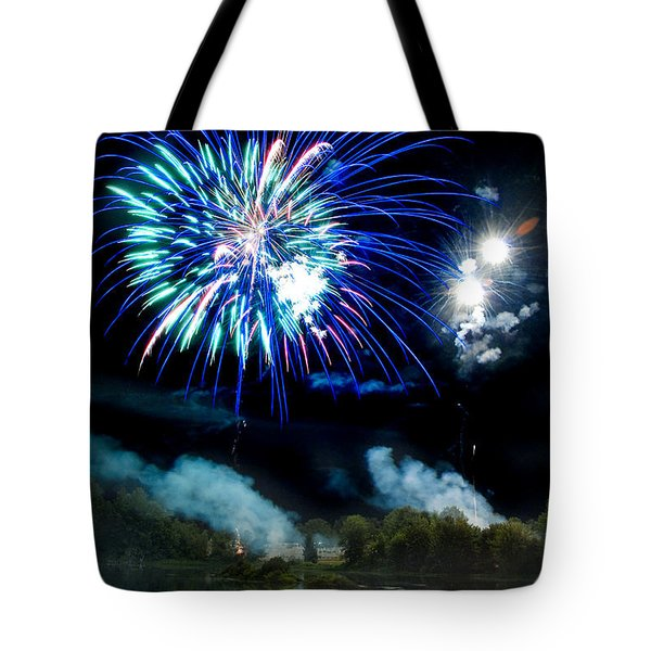 Celebration II Tote Bag by Greg Fortier